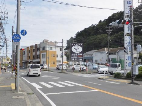 有馬系統横須賀水道みち・三菱電機付近
