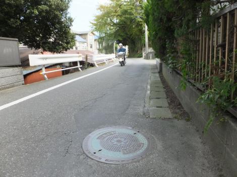 有馬系統横須賀水道みち・鎌倉市山崎