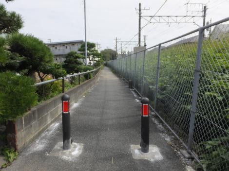 有馬系統横須賀水道みち・鎌倉市小袋谷2