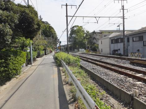 有馬系統横須賀水道みち・北鎌倉駅付近