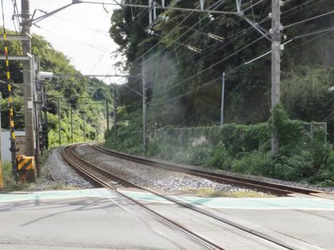 有馬系統横須賀水道みち・鎌倉街道踏切