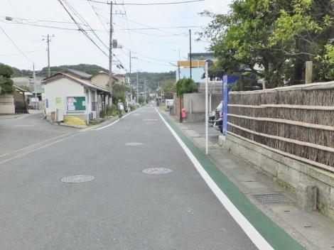 横須賀水道みち・材木座2丁目