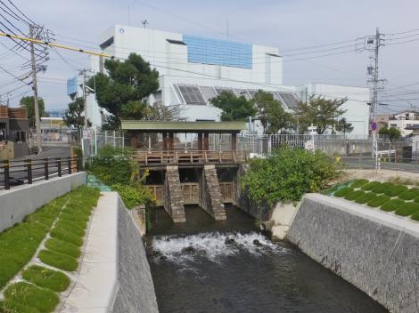 堀川・黒川樋門