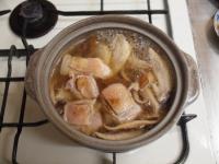 柚子胡椒風味の鶏鍋31