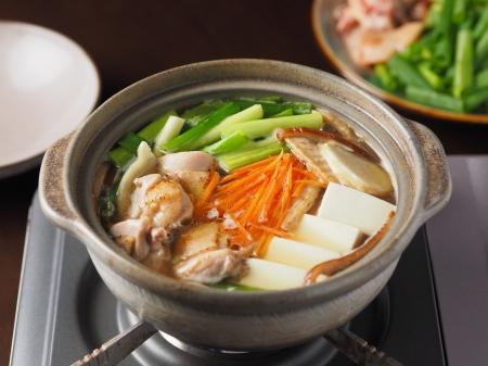 柚子胡椒風味の鶏鍋05