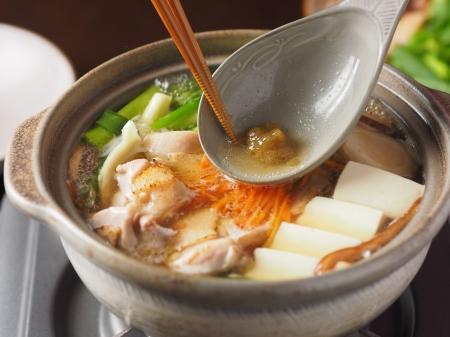 柚子胡椒風味の鶏鍋06