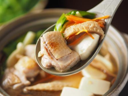 柚子胡椒風味の鶏鍋13
