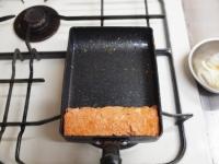 トマトとほうれん草の玉子焼き43