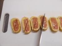 トマトとほうれん草の玉子焼き57