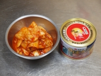 鯖缶キムチ鍋25