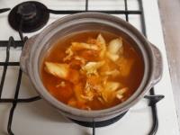 鯖缶キムチ鍋30