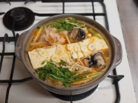鯖缶キムチ鍋39