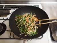 ニラと魚肉ソーセージのピリ辛38