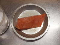 秋鮭の包み蒸し17