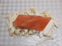 秋鮭の包み蒸し22