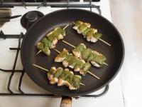 鶏むね肉の梅肉大葉焼き48