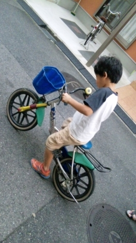 自転車の練習 kou