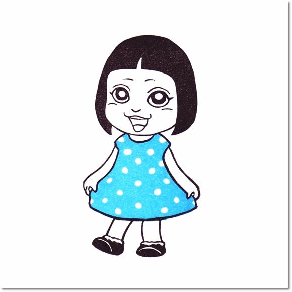 テラピィの乙女はんこ☆きせかえサキ 水玉編♪の巻