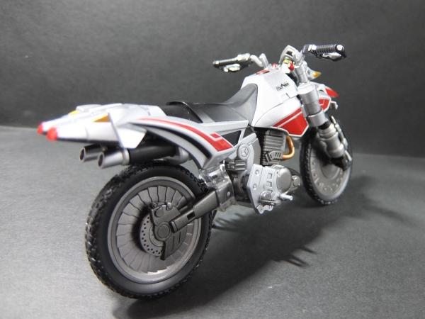 14 バイクモードリアビュー