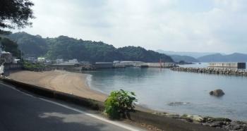 広川の海水浴場