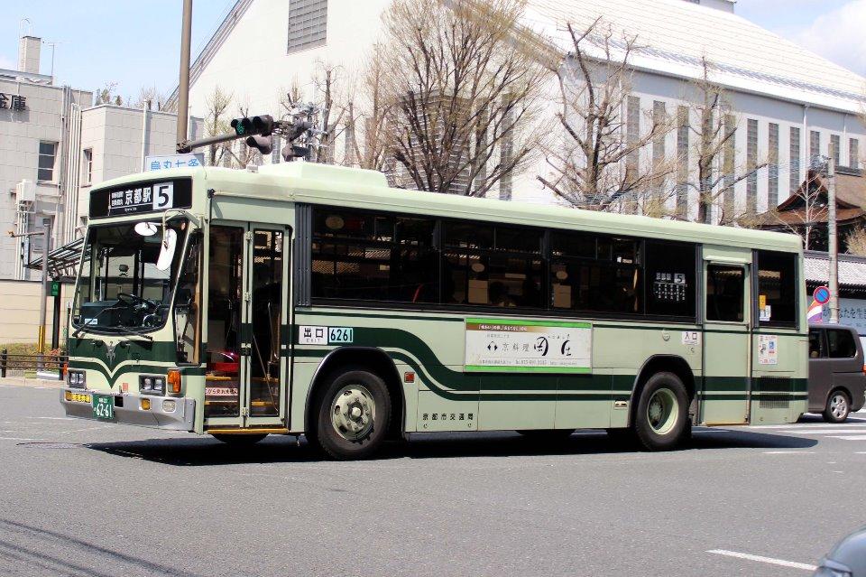 京都市交通局 か6261