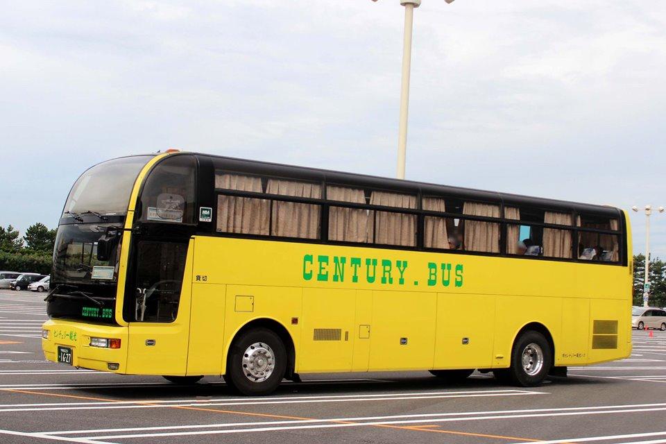 センチュリー観光バス 231い1627