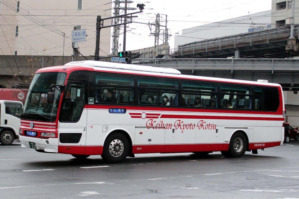 京阪京都交通 N624