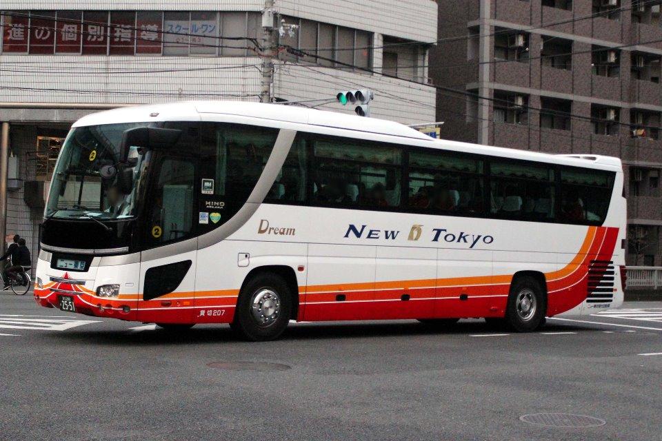 ニュー東京観光自動車 207