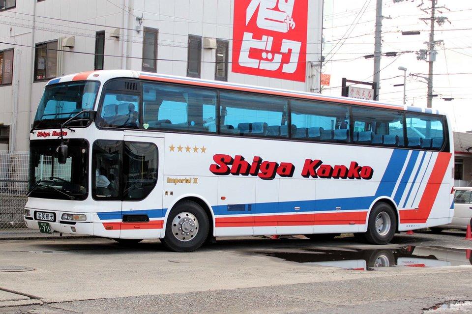 滋賀観光バス か715