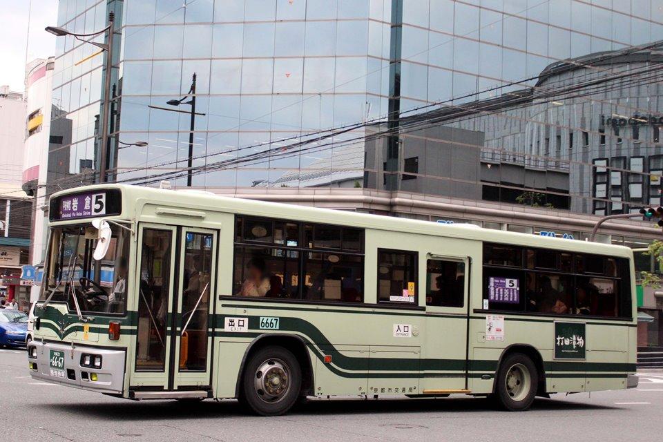 京都市交通局 か6667