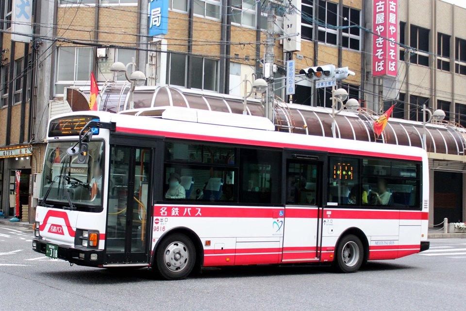 名鉄バス 9616