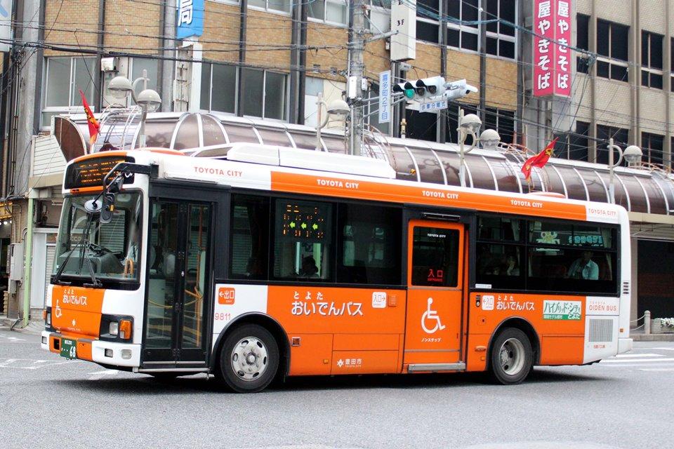 名鉄バス 9811
