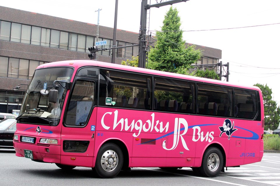 中国JRバス 444-8955
