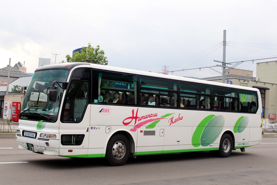 はまなす観光バス か290