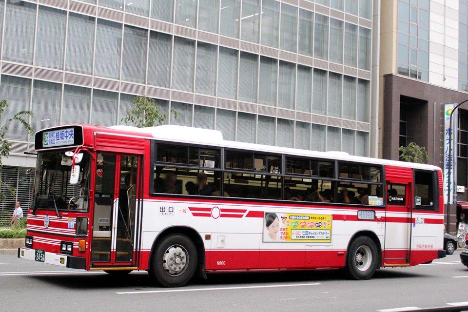 京阪京都交通 N600