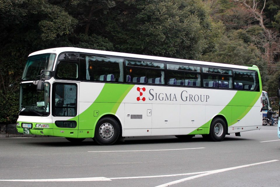 シグマ観光バス か658