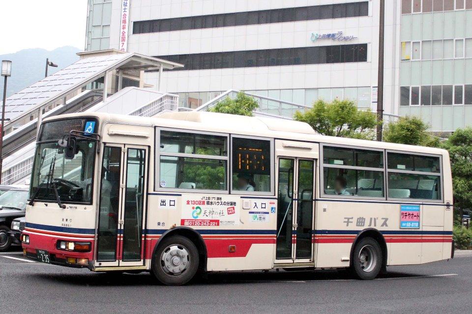 千曲バス か235