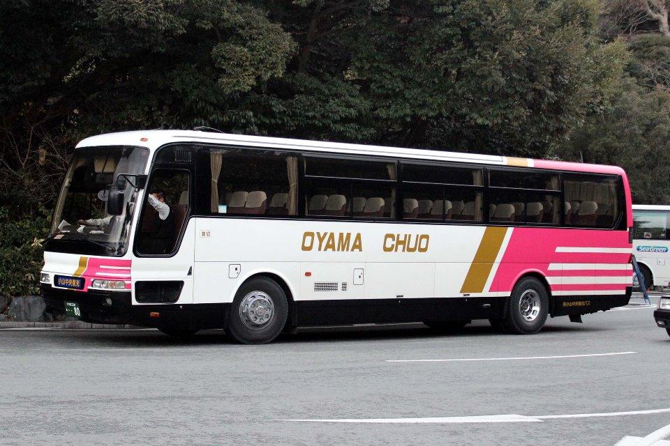 小山中央観光バス あ80