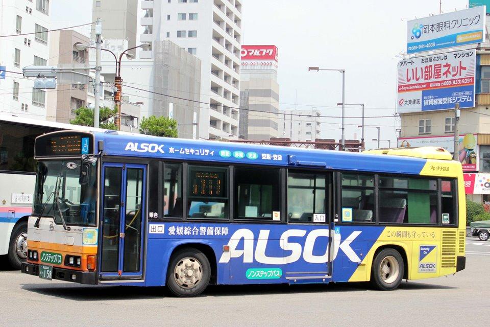 伊予鉄道 か158