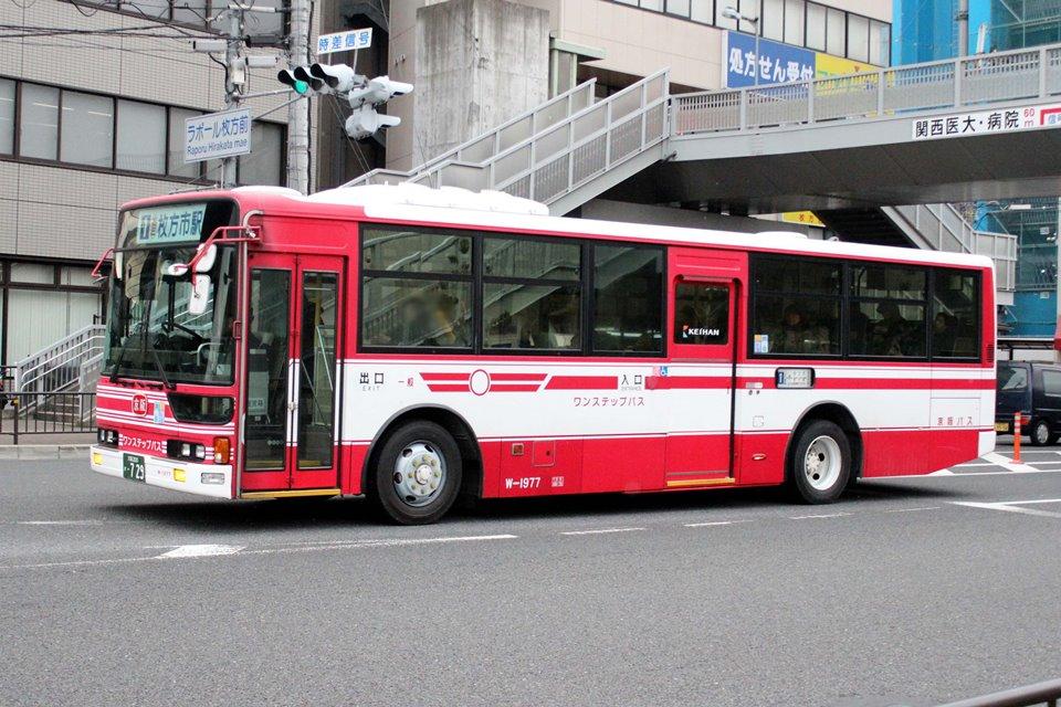 京阪バス W-1977