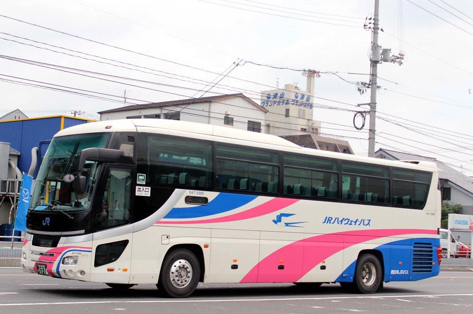 西日本JRバス 647-5986