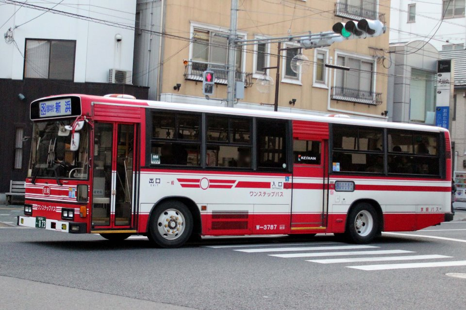 京阪バス W-3787