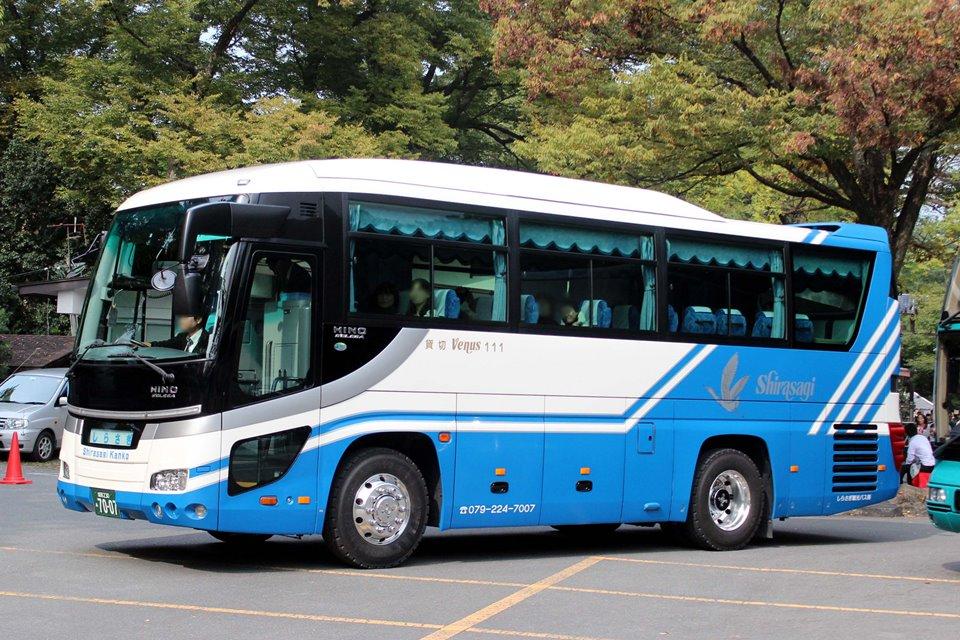しらさぎ観光バス あ7007