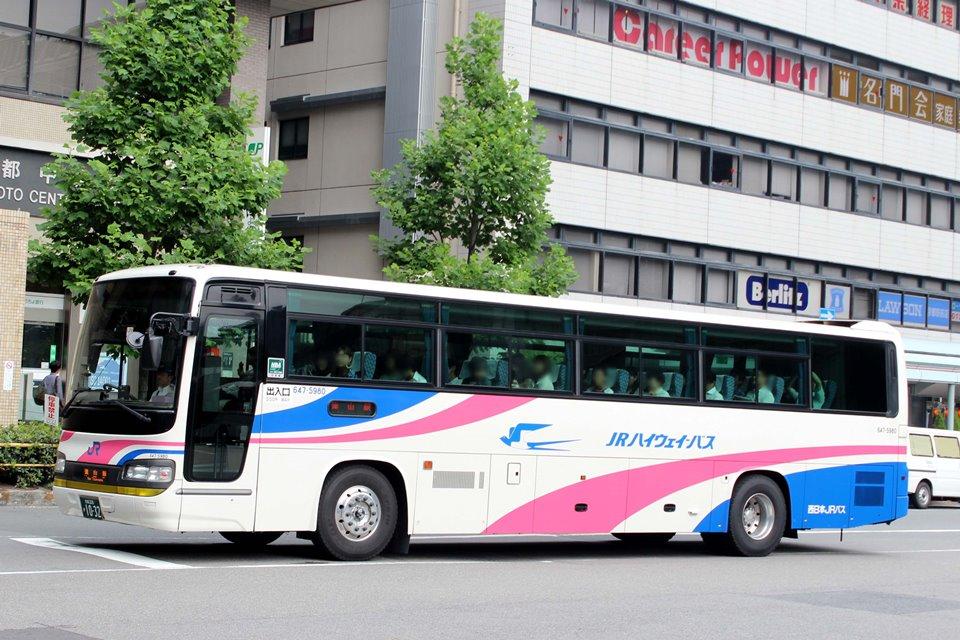 西日本JRバス 647-5980