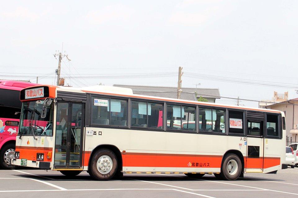 和歌山バス か355