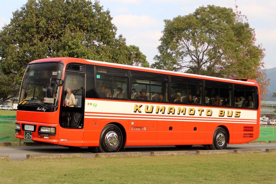 熊本バス か3179