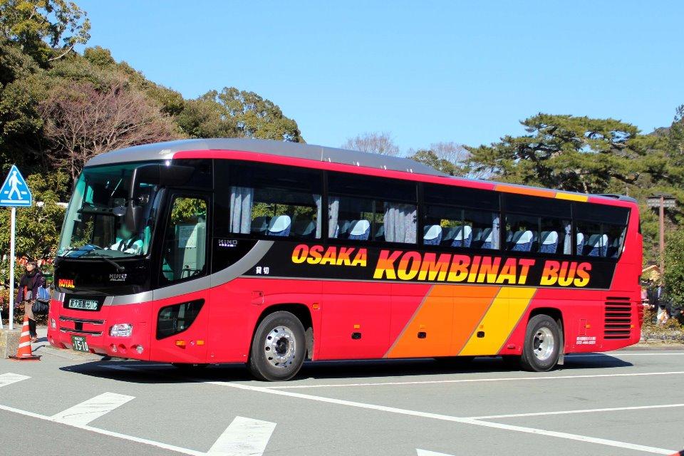 新大阪観光バス か1510
