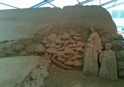 砂の彫刻展8