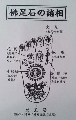 仏足石諸相blog01
