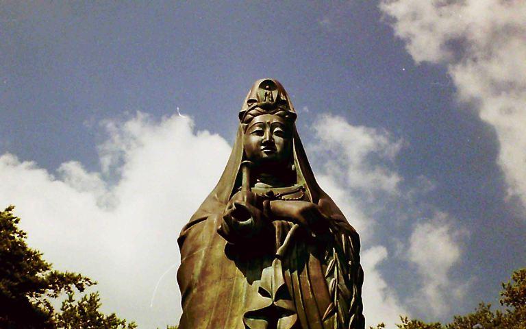 集仙院 観音菩薩像-1